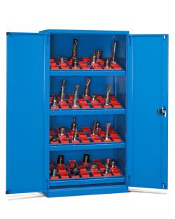szafka warsztatowa zamykana niebieska