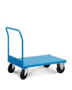 wózek magazynowy niebieski