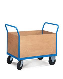 wózek magazynowy zabudowany